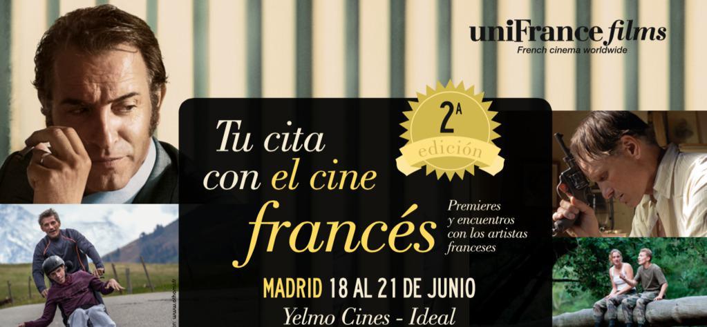 Deuxième édition de Tu cita con el Cine Francés en Madrid