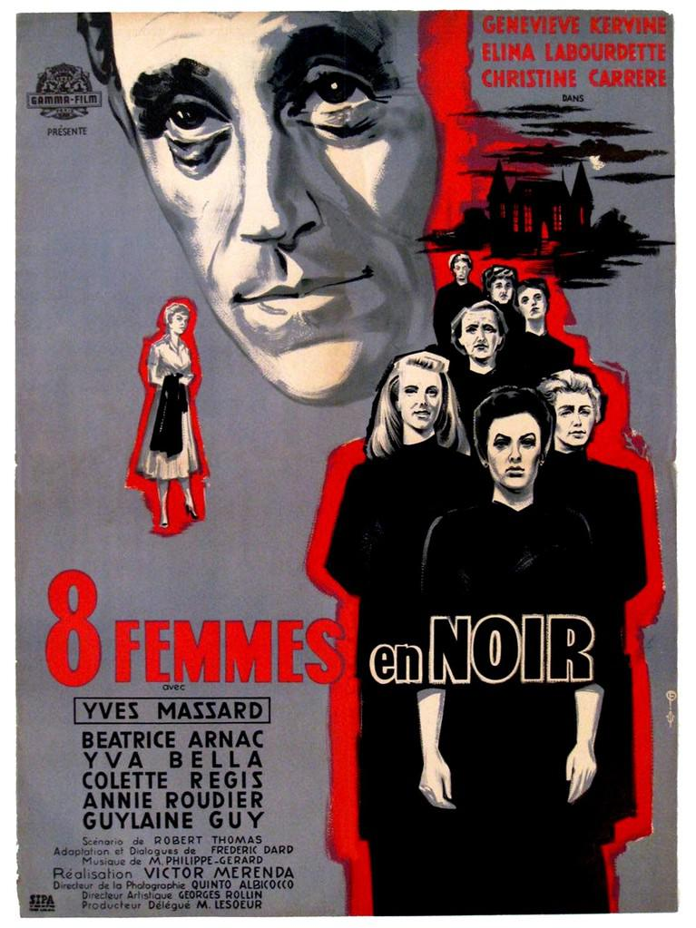 La Nuit des suspectes (8 femmes en noir)