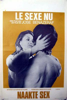 Le Sexe nu - Poster Belgique